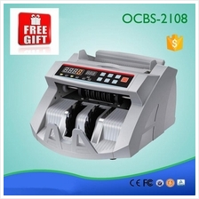 Free G+ Money Currency Bank Notes Bill Counter Machine Wang Duit DG UV