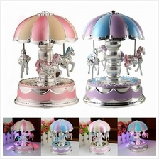 NEW FUL ELISE MUSIC BOX CHRISTMAS BIRTHDAY GIFT CAROUSEL MUSIC BOX