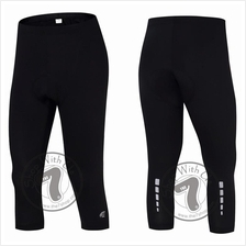 OneZY Men 3/4 Cycling Pants (FREE Socks)