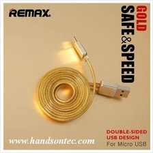 REMAX® Gold Safe and Speed microUSB Cable