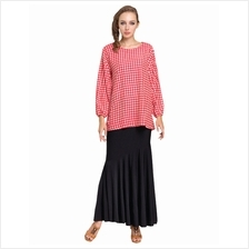 Fashion Cross Design Chiffon Top