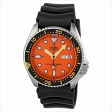 SEIKO Automatic Diver Rubber Japan Made SKX011J1 SKX011 Men Watch