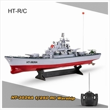 HT-3826A 1/250 Radio Control Electric RC Battleship Warship Boat