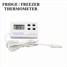 Fridge Refrigerator Freezer Digital Alarm Temperature Thermometer