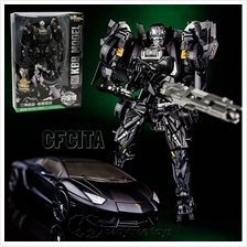 KBB Transformers Age Of Extinction Black Lockdown Alloy Parts Figures