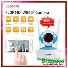 LOOSAFE 720P 960P IP Camera WIFI Home Video Security Indoor Cam System