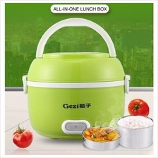 Portable Mini Rice Cooker,Electric Egg Cooker,Food Steamer,Lunch Box