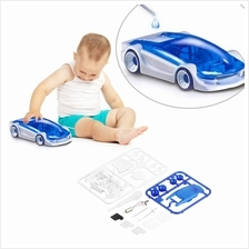 New DIY Kits Salt Water Fuel Car Green Energy Assembled Toys For Child..