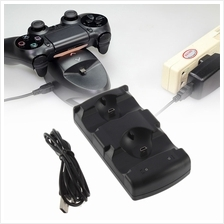 2 in 1 Dual Charging Game Station Charger Stand Dock Holder Mount for ..