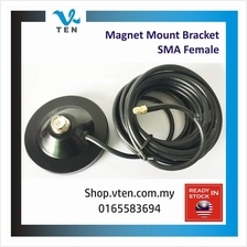 Antenna Based 12cm Magnet Mount For BAOFENG KENWOOD TYT Female