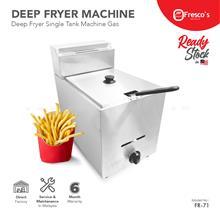 Deep Fryer Gas Single Tank