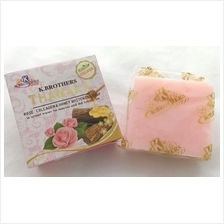 1 piece K Brothers Thanaka Rose Collagen Honey Whitening Soap AntiAcne