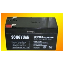 12V1.3AH battery 12 hours sealed lead acid rechargeable battery