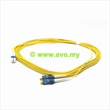 Systimax TeraSPEED LC to SC, Fiber Patch Cord, 1.6 mm Duplex (Yellow)
