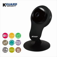 KGuard Security 1080P WiFi IP Camera with Night Vision Black (QRC-601)