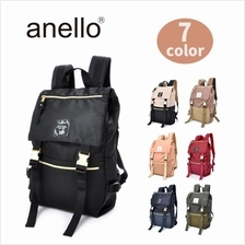 (SALE) ANELLO Nylon GOLD BUCKLE Big Ruck Sack Backpack AT-B1493