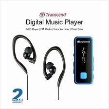 Transcend MP350 Sport Music Player Flash Drive MP3 Player FM Radio 8GB