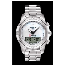 TISSOT T047.220.44.116.00 T-TOUCH II Lady titanium white MOP diamonds