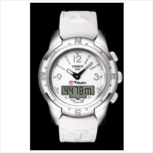 TISSOT T047.220.46.016.00 T-TOUCH II Lady white arabic index diamonds