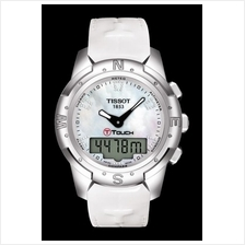 TISSOT T047.220.46.116.00 T-TOUCH II Lady white MOP diamonds