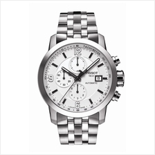 TISSOT T055.427.11.017.00 PRC200 Automatic Chrono white index arabic