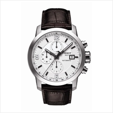 TISSOT T055.427.16.017.00 PRC200 Automatic Chrono white index arabic