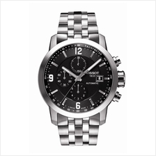 TISSOT T055.427.11.057.00 PRC200 Automatic Chrono black index arabic
