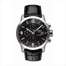 TISSOT T055.427.16.057.00 PRC200 Automatic Chrono black index arabic