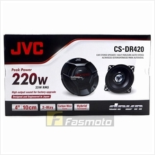 JVC CS-DR420 DR Series 4 inch 2 way Car Speakers 35W RMS