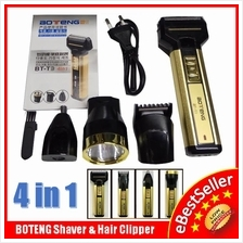 Boteng T1 T3 4in1 Multifunction Shaver Razor Hair Clipper Nose Trimmer