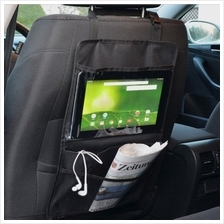 Car Back Seat IPad tablet Hanging Organize Bag