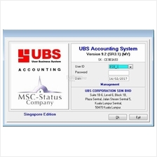 UBS ACCOUTING 9.2 SINGAPORE EDITION USB DONGLE