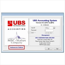 UBS ACCOUNTING 9.2 INDONESIA EDITION USB DONGLE
