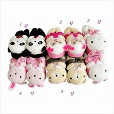 02382 South Korea sweet princess lovely thick warm slippers