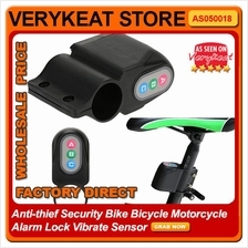 Anti-thief Security Bike Bicycle Motorcycle Alarm Lock Vibrate Sensor