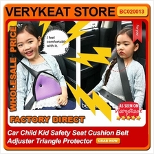 Car Child Kid Safety Seat Cushion Belt Adjuster Triangle Protector