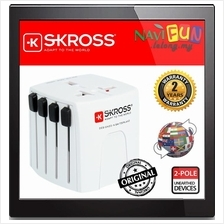 ★ SKROSS World 2-pole Adapter [MUV MICRO] Travel Adapter