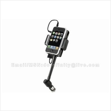 iPhone 4 4S Samsung Phone iPod FM Transmitter USB Car Charger Holder