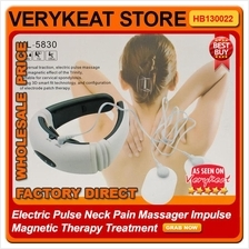 Electric Pulse Neck Pain Massager Impulse Magnetic Therapy Treatment