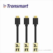 Ori Tronsmart MUPP1 (3-Pack) Premium USB Cable with Gold Plated