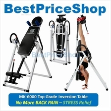 Top Grade Foldable Inversion Table MK-6000 Back Pain & Stress Relieve