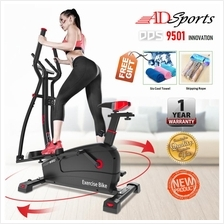 MyFitness E8002 Magnectic Elliptical Cross Cardio Exercise Space Bike