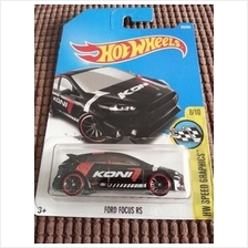 Hot Wheelscast Ford Focus Rs Koni Black New