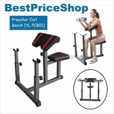 Preacher Curl Gym Fitness Chair Barbell Bench Bicep Tricep (YL-PCB01)
