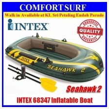 SEAHAWK 2 INTEX 68347 2 Persons Kayak Rescue Fishing Inflatable Boat