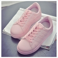 MT019007 Charming Cute Candy Color Ladies Round-toe Thick Muffin Crust Casual