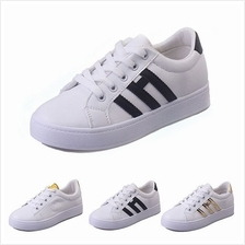 MT016410 Korean Women 's Casual Flat Round Head Sneakers Shoe