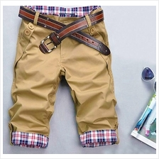 MT058023 Korean Slim Men Short Pants Trousers