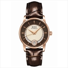MIDO M007.207.36.291.00 BARONCELLI II Lady Auto Diamonds leather brown