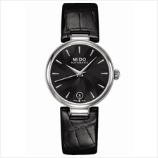 MIDO M022.207.16.051.10 BARONCELLI II Lady Auto Date leather black